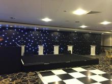 4 person speech stage suitable for weddings and parties