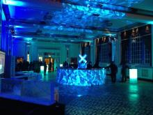 Circular bar for parties and weddings