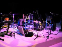 4-piece band stage for parties and weddings