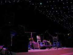 6-piece band stage