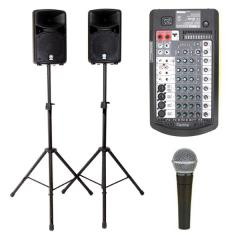 Yamaha STAGEPAS400i iPod package 4