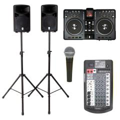 DJ Mixing & Wired Mic Package 3